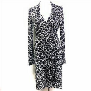 DVF Jeanne Wrap Dress